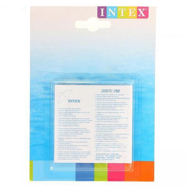 ИНТЕКС Ремкомплект для надувных изделий на к 16*11см 36шт. кор (59631)