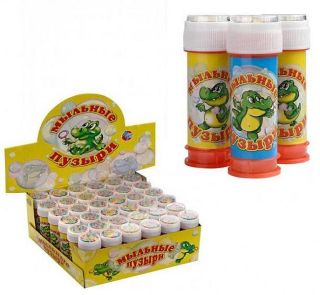 Алекс Тойз 025 Мыльные пузыри 50мл 15010 цена за 1шт. уп-36 в. к 324шт.