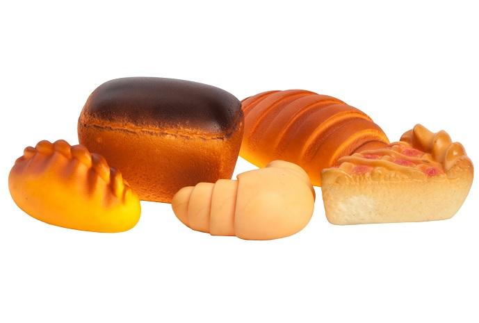 Огонек  Пластизоль игрушка Набор Хлеба С-852