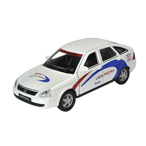 Welly мод. 43645RY 1:34-39 Lada Priora Rally