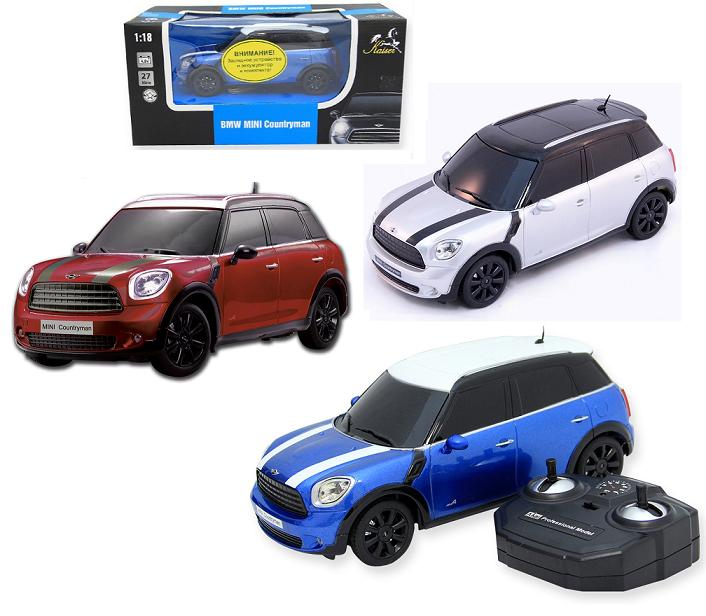 Kaiser Машина р/у 29997 1:18 BMW Mini Countryman с аккум., свет, цвет в ассорт.