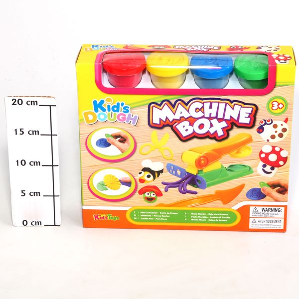 Zhorya Набор пластилина 11539 Kid's Dough, пресс-машина 32х26х7,5см