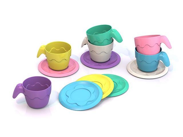 Шкода  ШКД04 Посуда (6 чашек+ 6 блюдец)