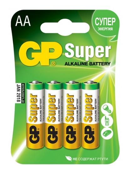 GP  AA LR06 BL-4 Super 4. 40. 320