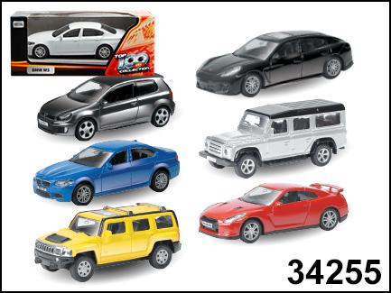 АКЦИЯ!!! AutoTime мод. 34255 1:64 Коллекция Top-100 hot №1 ассорт.