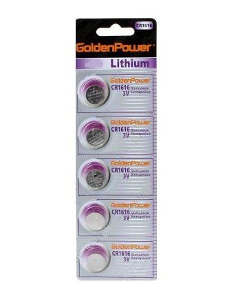 Golden Power  CR2016 BL-5 5. 500. 2500