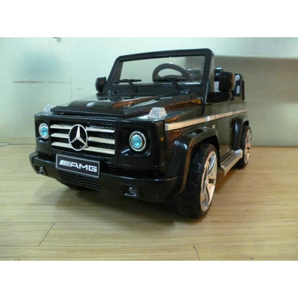 Джип Mercedes-Benz KT6101-BLACK G55 AMG на аккум., R. C, 2 мотора 35WX2, 2 скорости 132х66х60 12V7AH в кор. 1шт