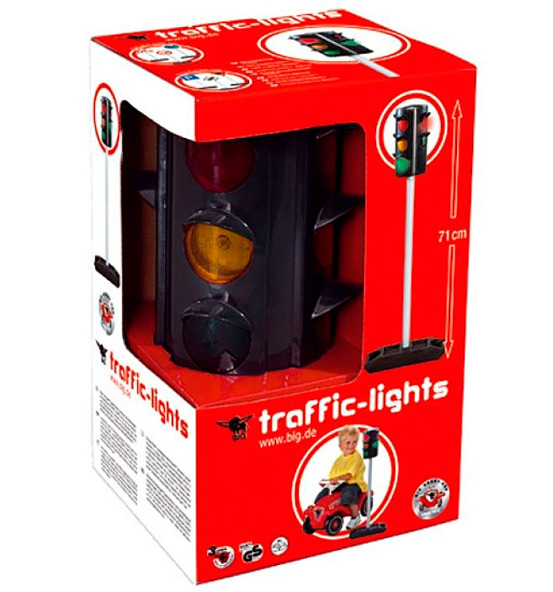 BIG 1197 Светофор Traffic-Lights, свет, 27х12х71см, 1. 4