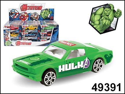 AutoTime мод. 49391 1:60 Hulk Marvel (Мстители) дисп.