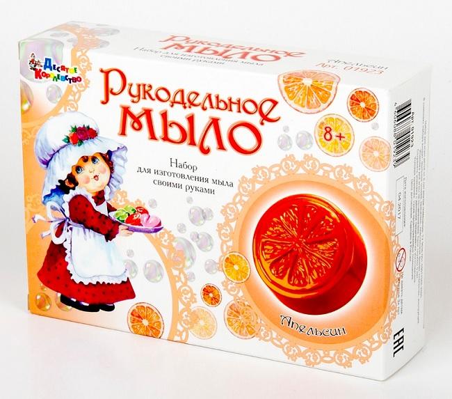 Десятое кор.   Набор для изготовления мыла 01923 Рукодельное мыло Апельсин