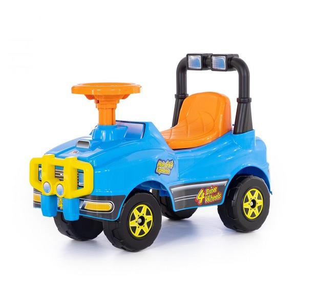 Полесье  62840 Автомобиль Джип-каталка (голубой)