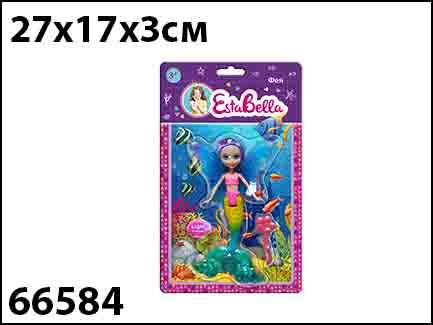 Esta Bella 66584 Кукла Фея светящаяся с аксессуарами