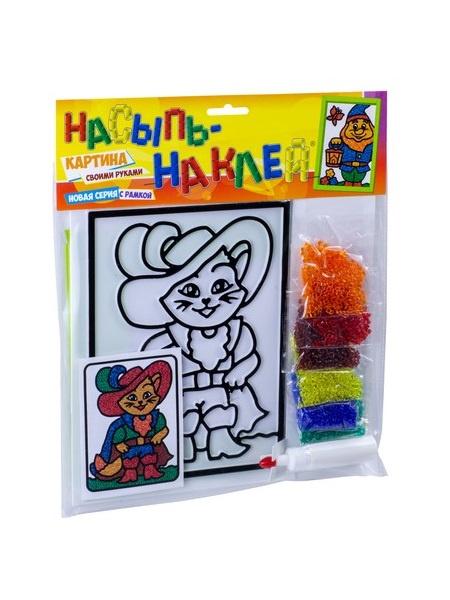 Эра Насыпь-наклей С-2384 Кот в сапогах