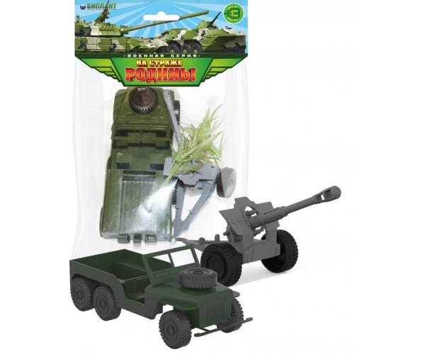 Биплант 12033 Игровой набор Артилерийский расчет