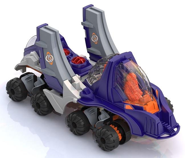 Нордпласт 295. 1. 2 Машина Планетоход Каллисто в ассорт.
