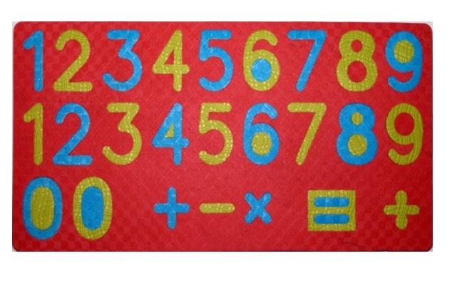 Тедико 1143 Мягкий конструктор Цифры