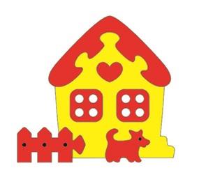 Тедико 45563 Мозаика Сказочный домик