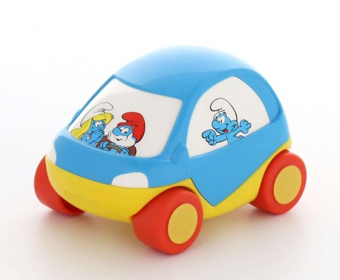 Полесье  64523 Забавная детская машинка  Смурфики №3
