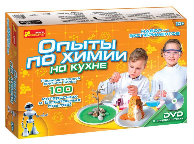 Ранок. Набор для экспериментов 12114043Р Опыты по химии на кухне