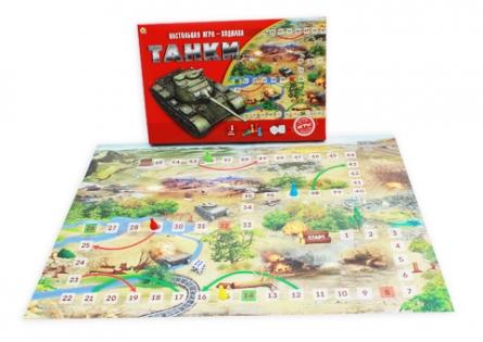 Рыжий кот  Лучшая настольная игра-ходилка ИН-8973 Танки