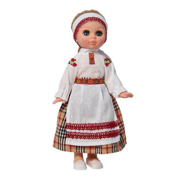 Кукла  Весна Эля в белорусском костюме С3190