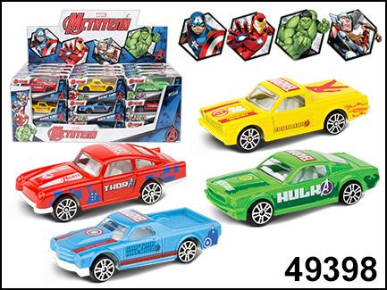 AutoTime мод. 49398 1:60 Avengers Marvel (Мстители) ассорт., диспенсер