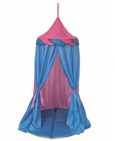 Belon Палатка подвесная ПИ-011. Ш-ТФ1 Радужный домик Шатер (розовый с голубым)