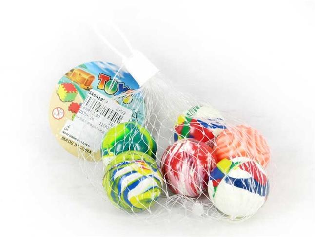Наш Китай-2  Мячики 35мм 6шт. уп цена за шт. 041937GA 240. 240