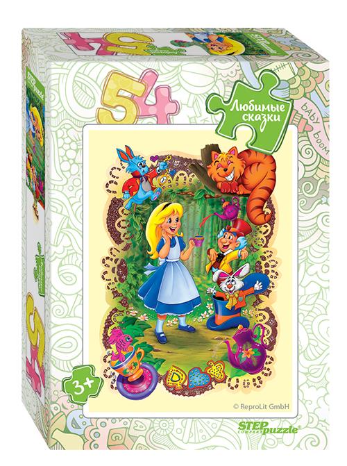 Steppuzzle  Пазлы    54 71035 Любимые сказки