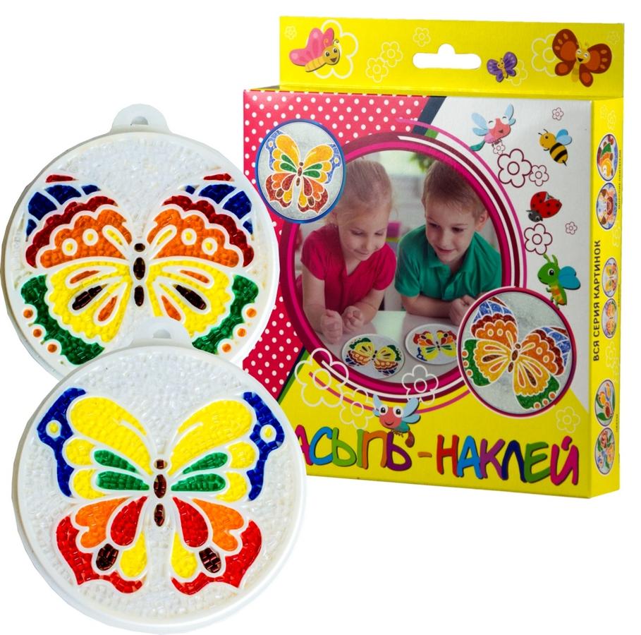 Эра Насыпь-наклей С-348 Бабочки исп. м2