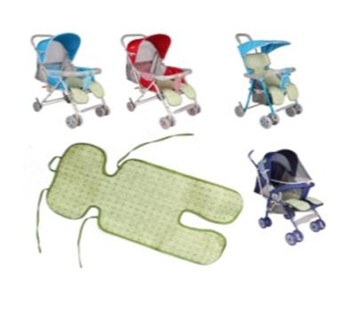 Коврик-накидка для коляски 425 дышащая (лён)