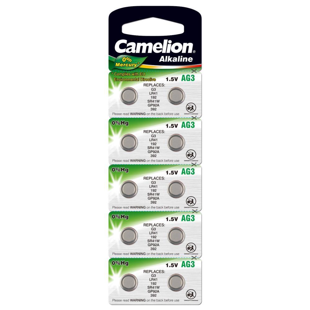 Camelion  AG3  392A  LR41  10. 100. 3600
