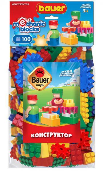 Бауер Конструктор 677 Клуб механик 100эл.
