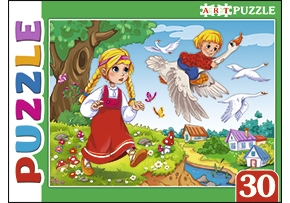 Artpuzzle Пазлы 30 элем. ПА-4516 Гуси-Лебеди