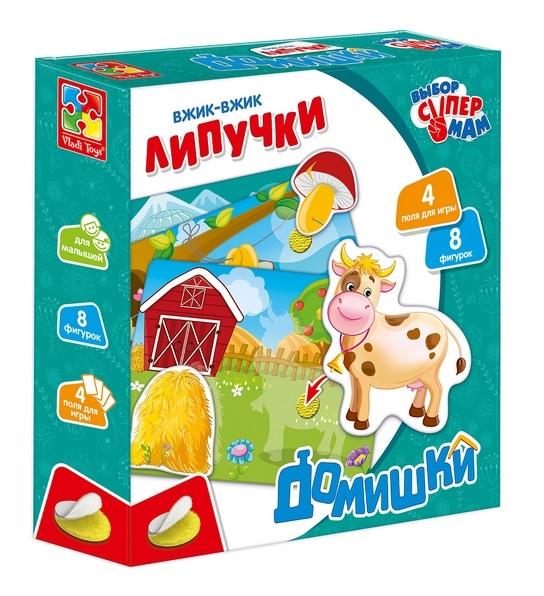 Vladi-Toys  Вжик-вжик Липучки 1302-20 Домишки