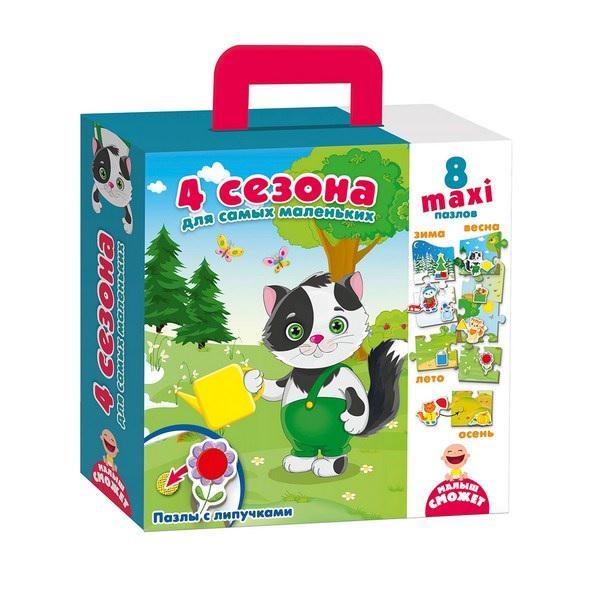 Vladi-Toys  Пазл с липучками 2907-02 4 сезона?