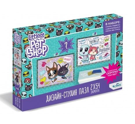Origami  Littlest Pet Shop 04419 Дизайн-студия Диптих 2х54 Лучшие друзья + сюрприз