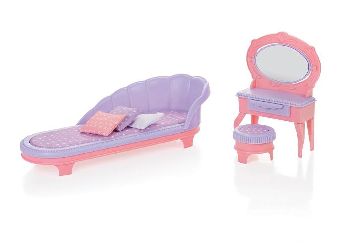 Огонек  Будуар Маленькая Принцесса, розовый уп-6шт С-1460