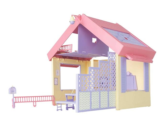 Огонек  Маленькая принцесса. Складной дом С-1458 уп-3шт
