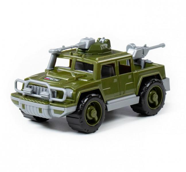 Полесье  79152 Машина Разведчик, Пикап военный с 2-мя пулемётами