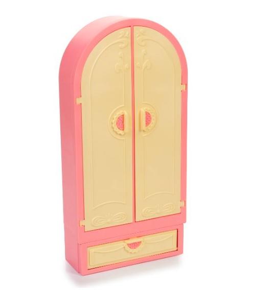 Огонек  Гардероб Маленькая Принцесса (нежно-розовый) уп-8шт С-1503