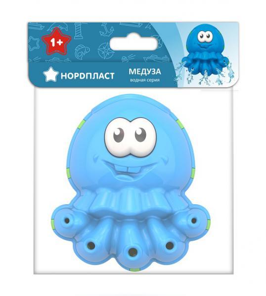 Нордпласт 733 Игрушка для ванны. Водная серия: Медуза в инд. уп.