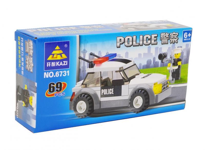 Наш Китай  Конструктор 6731 Полиция 69 дет. DC027252 48. 192