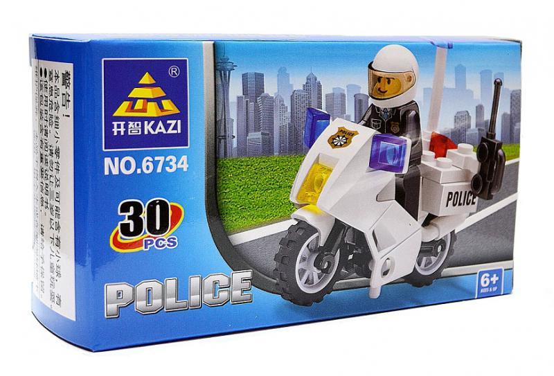 Наш Китай  Конструктор 6734 Полиция 30 дет. DC027255 80. 320