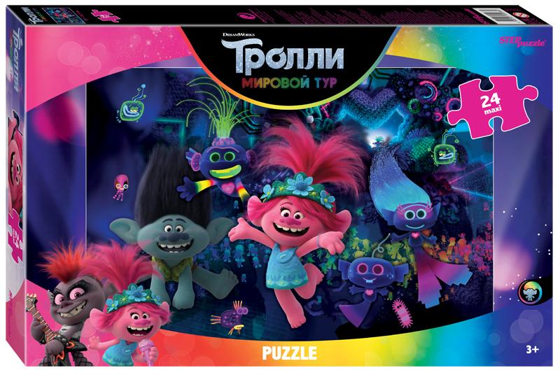 Steppuzzle  Пазлы    maxi 24 90068 DreamWorks. Trolls - 2. Techno Life
