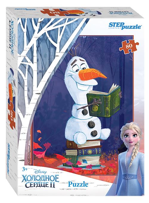 Steppuzzle  Пазлы    80 77166 Disney. Холодное сердце - 2