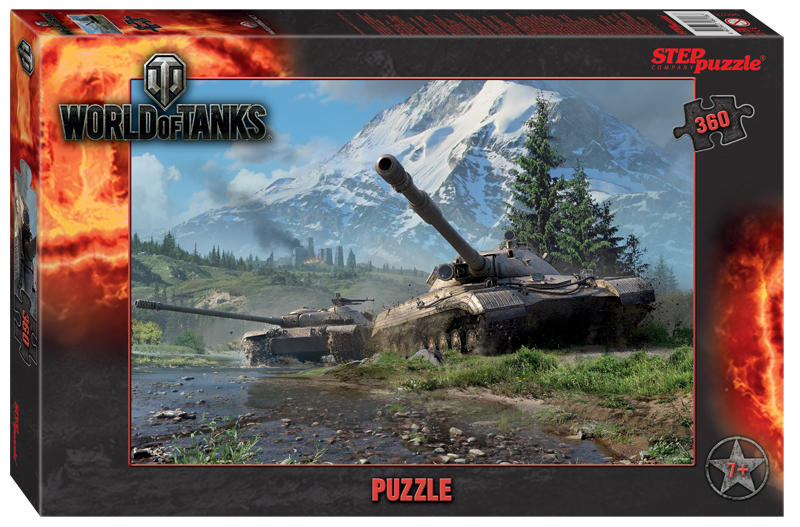 Steppuzzle  Пазлы   360 96078 Wargaming. World of Tanks