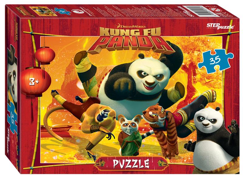 Steppuzzle  Пазлы    35 91184 DreamWorks, Мульти. Кунг-фу Панда