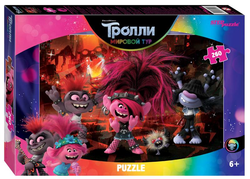 Steppuzzle  Пазлы   260 95100 DreamWorks. Trolls - 2