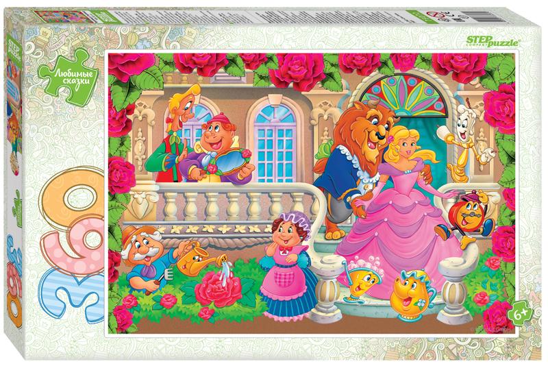 Steppuzzle  Пазлы   360 73072 Любимые сказки. Красавица и Чудовище